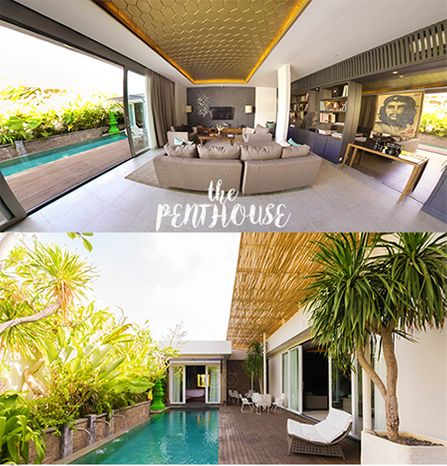 The new tranquility while staying in 3 bedroom villa Seminyak