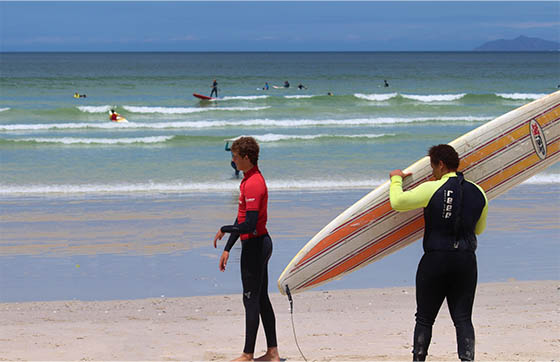 Reasons to spend holidays in surf camp course